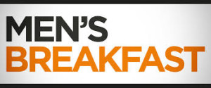 mens breakfast banner