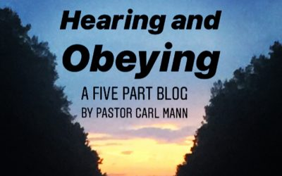 Hearing and Obeying (Part 5 of 5)