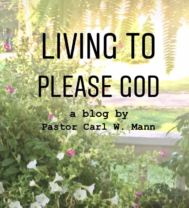 Living to Please God (Part 8)